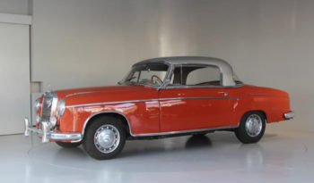 Mercedes-Benz 220 S Coupé W180 voll
