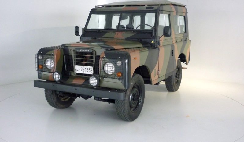 LAND ROVER 88 SERIE III voll